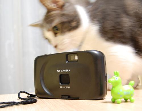 7プラモデルカメラ