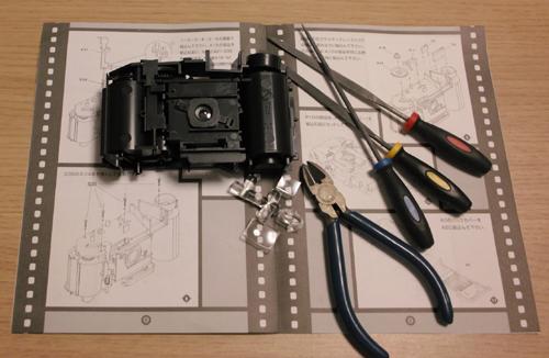 5プラモデルカメラ